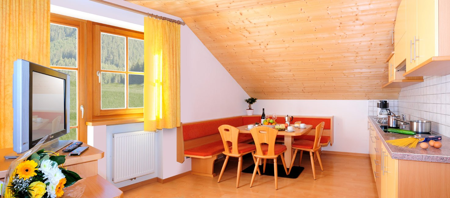 appartamenti per le vacanze ad anterselva steinzgerhof